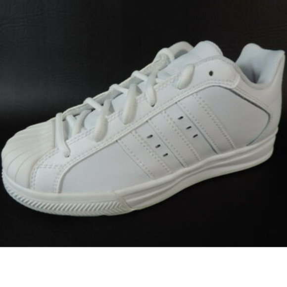 ADIDAS SUPERSTAR VULCANO K BOY'S SHOES WHITE Boutique